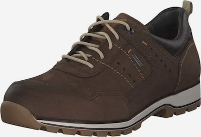 FRETZ MEN Chaussure de sport à lacets en brun foncé, Vue avec produit