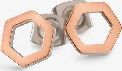 Boccia Titanium Ohrringe in rosegold / silber, Produktansicht