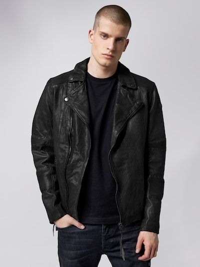 tigha Between-season jacket 'Arno' in Black, View model