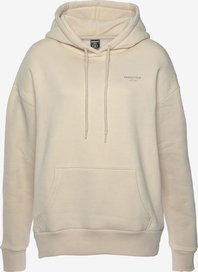 DSCVR Sweatshirt in wollweiß, Produktansicht