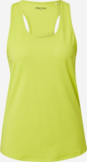ABOUT YOU Top deportivo 'Kate' en amarillo, Vista del producto