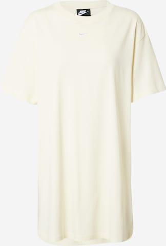 Nike Sportswear Kleit 'Essential', värv valge