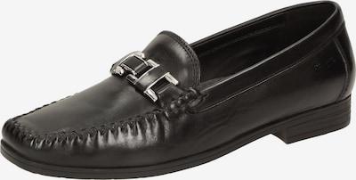 SIOUX Slipper 'Cambria' in schwarz / silber, Produktansicht