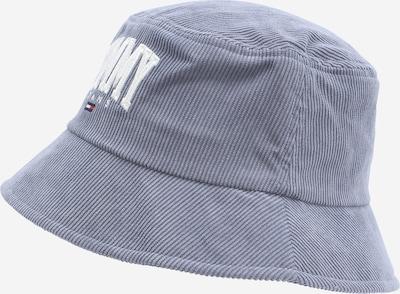 Pălărie Tommy Jeans pe albastru fumuriu / alb, Vizualizare produs