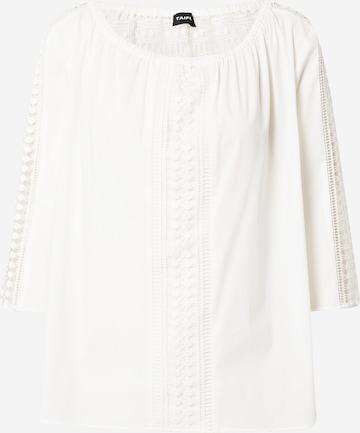 TAIFUN Bluse in Weiß