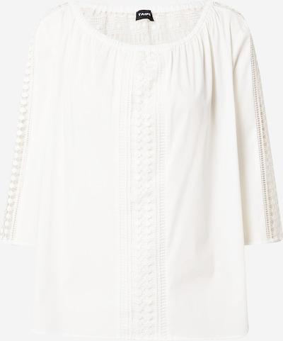 Bluză TAIFUN pe alb, Vizualizare produs