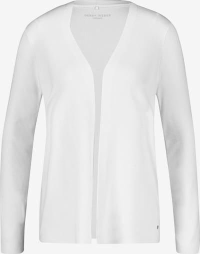 GERRY WEBER Strickjacke in weiß, Produktansicht