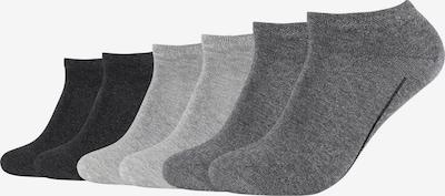 camano Sneakersocken 'ca-soft' in grau, Produktansicht