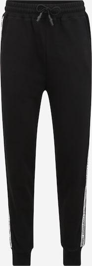 DIESEL Pyjamabroek 'PETE' in de kleur Zwart / Wit, Productweergave
