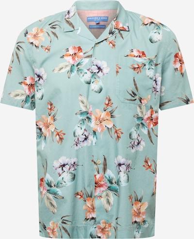 COLOURS & SONS Skjorta i pastellblå / blandade färger, Produktvy
