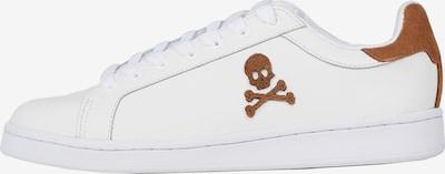 Scalpers Zemie brīvā laika apavi, krāsa - brūns / gandrīz balts, Preces skats