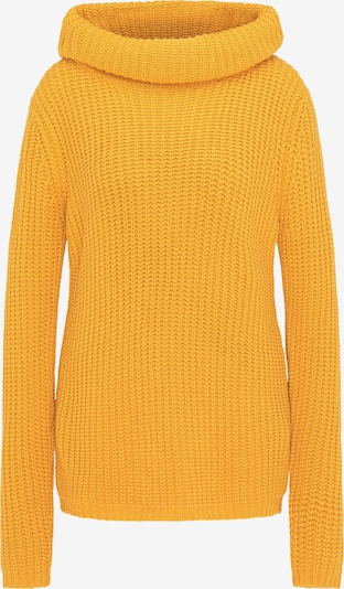 usha BLUE LABEL Pull-over oversize en jaune d'or, Vue avec produit