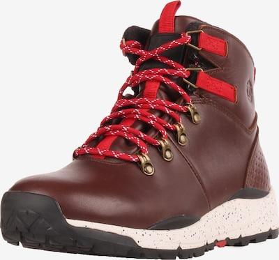 ELEMENT Boots in hellbeige / hellbraun / blutrot, Produktansicht