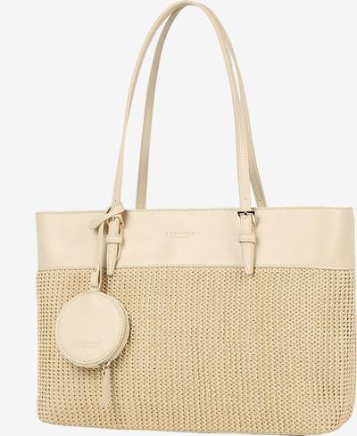 Seidenfelt Manufaktur Shoppingväska 'Lysekil' i beige, Produktvy
