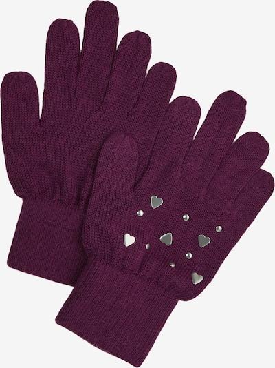 s.Oliver Handschuhe in lila / dunkellila, Produktansicht