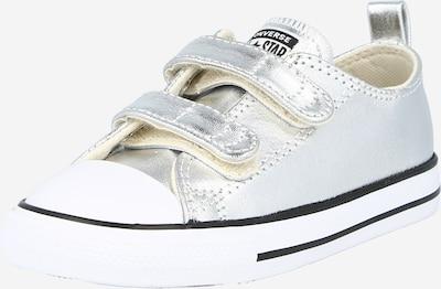 CONVERSE Sneaker 'CTAS' in schwarz / silber / weiß, Produktansicht