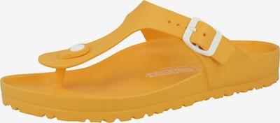 BIRKENSTOCK Teenslippers in de kleur Geel, Productweergave