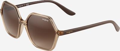 VOGUE Eyewear Lunettes de soleil '0VO5361S' en caramel, Vue avec produit