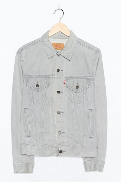 LEVI'S Jeansjacke in L in grey denim, Produktansicht