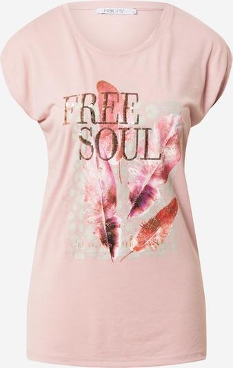 Hailys Tričko 'Tessa' - zlatá / světle šedá / tmavě fialová / pink / růžová, Produkt