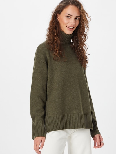 Megztinis iš Polo Ralph Lauren, spalva – rusvai žalia, Modelio vaizdas