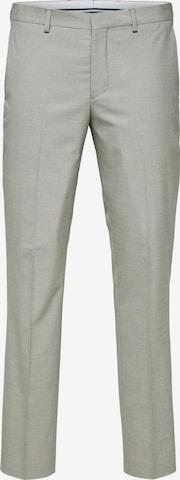 SELECTED HOMME Bukse med strykepress 'Mazelogan' i grå