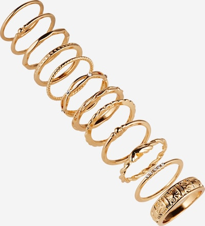 ABOUT YOU Ringe 'Davina' in gold, Produktansicht
