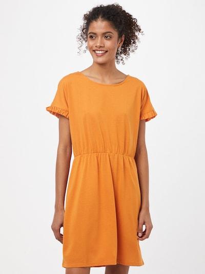 Rochie 'KAREN' JDY pe portocaliu, Vizualizare model
