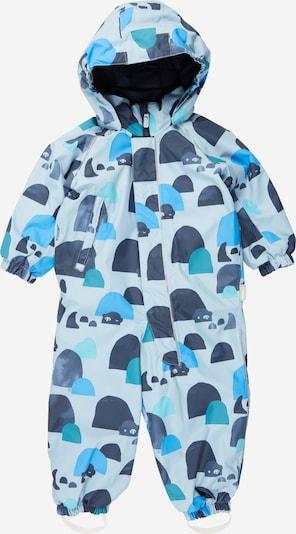 Reima Functioneel pak in de kleur Blauw / Navy / Lichtblauw, Productweergave