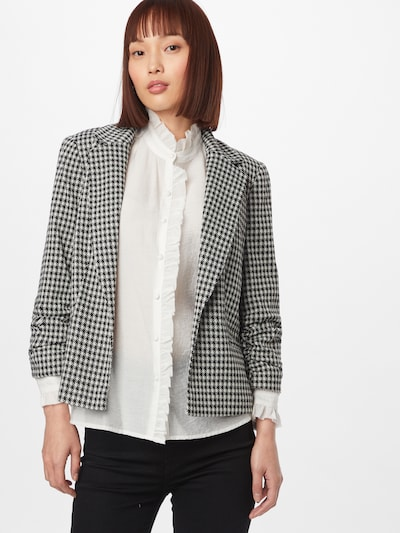 Miss Selfridge Blazer i sort / hvid, Modelvisning