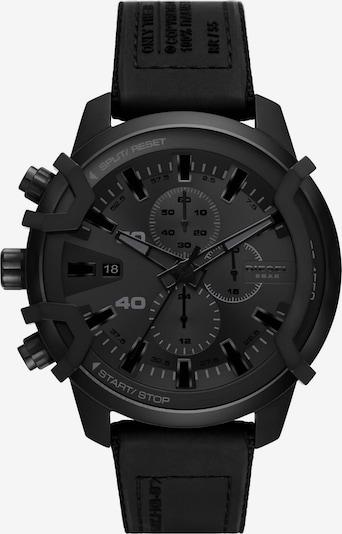 DIESEL Armbanduhr in grau / schwarz, Produktansicht