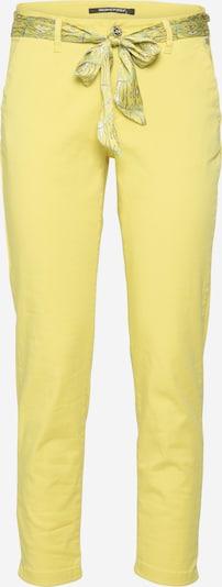 FREEMAN T. PORTER Lærredsbukser 'Claudia' i gul, Produktvisning