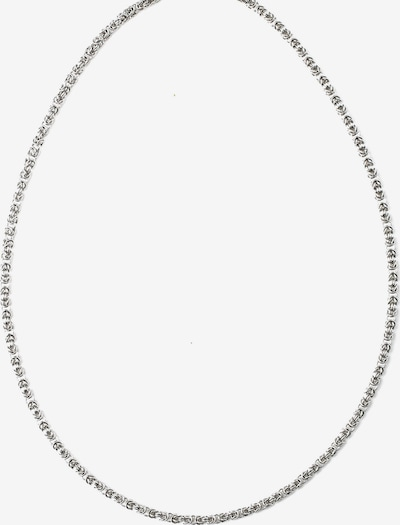 Heideman Ketting in de kleur Zilver, Productweergave