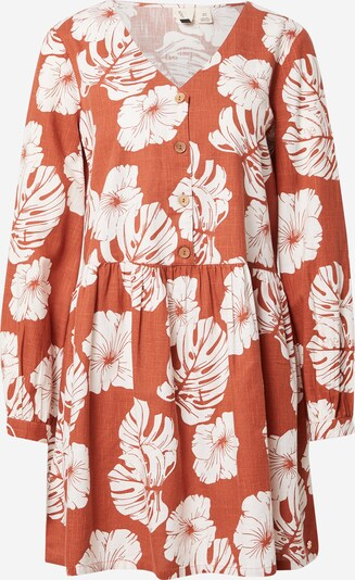 ROXY Shirt dress 'WAKE UP DARLING' in Orange red / White, Item view