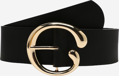 PIECES Gürtel 'JUCI' in gold / schwarz, Produktansicht
