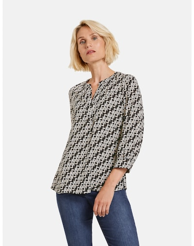 GERRY WEBER Blouse in Cream / Black, View model