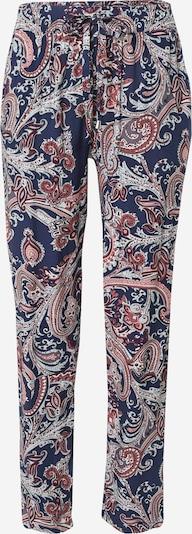 Hailys Pantalon 'Ricky' en bleu marine / pitaya / blanc, Vue avec produit