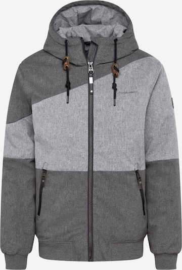 Ragwear Tussenjas 'BRIGER' in de kleur Grijs / Lichtgrijs, Productweergave