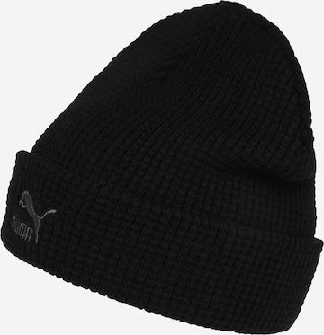 Bonnet PUMA en noir