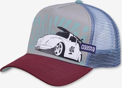Coastal Cap 'Low Beetle' in grau / mischfarben, Produktansicht