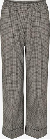 Pantalon à plis 'Maikito' OPUS en gris