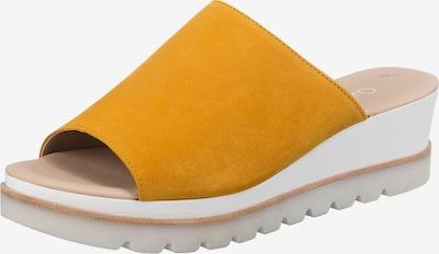 GABOR Pantolette in gelb, Produktansicht