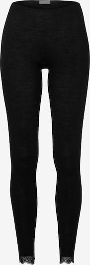 Hanro Leggings ' Woolen Lace ' in schwarz, Produktansicht