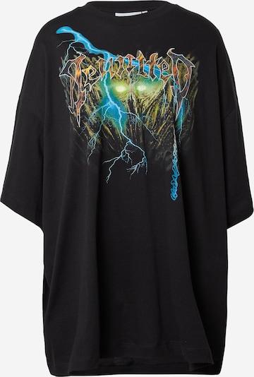 WEEKDAY Camiseta en mezcla de colores / negro, Vista del producto