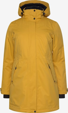 Maier Sports Outdoor Coat in Yellow