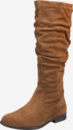 TAMARIS Boots in Brown: Frontal view