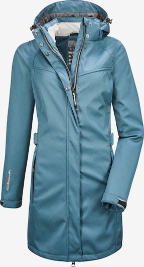 KILLTEC Softshell Mantel 'Närke' in blau, Produktansicht