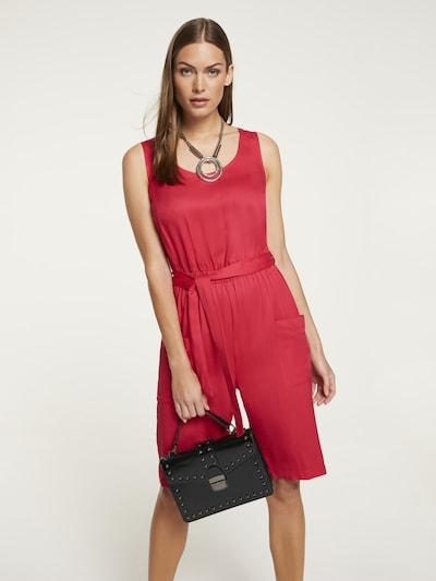 heine Jumpsuit in cranberry, Modelansicht