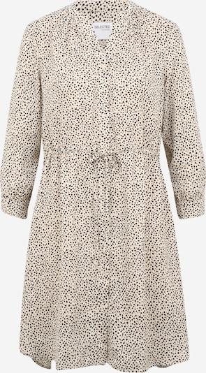 SELECTED FEMME Kleid in beige / schwarz, Produktansicht