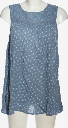 G!na ärmellose Bluse in XXL in blau / weiß, Produktansicht